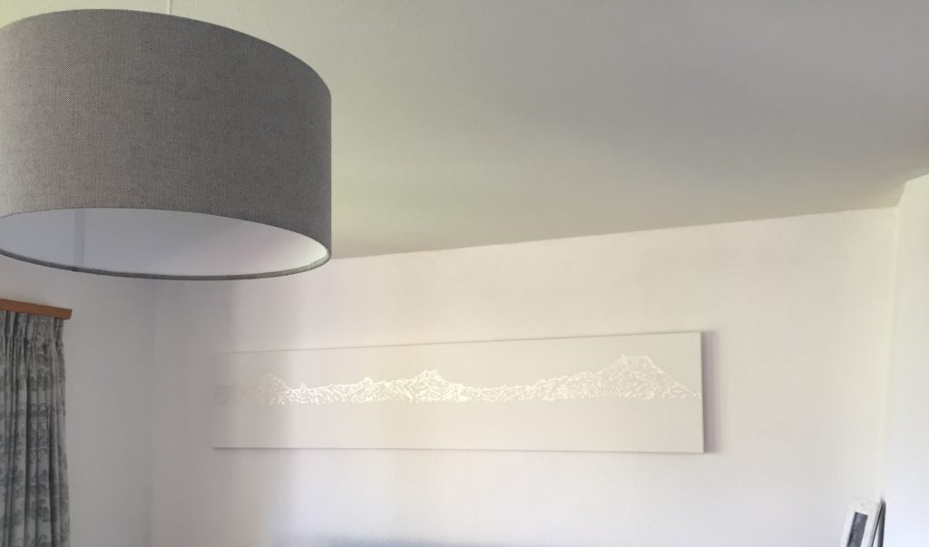 Available 200x40cm Silver Leaf